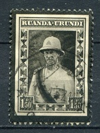 Ruanda - Urundi Nr.61       O  Used       (005) - 1924-44: Gebraucht