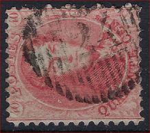 Nr. 16 Met ZELDZAME Distributie -stempel D24 Van INGELMUNSTER En In Goede Staat ; Zie Ook 3 Scans ! Inzet Aan 35 Euro  ! - 1863-1864 Medallions (13/16)