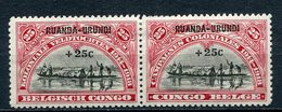 Ruanda - Urundi Nr.21/2 Paar       *  Unused       (002) - Ruanda-Urundi