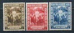 Ruanda - Urundi Nr.62/4      *  Unused       (006) - Ruanda-Urundi