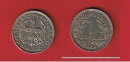 Allemagne  - 1 Reichsmark 1934 A  -  état  TTB - [ 4] 1933-1945 : Troisième Reich