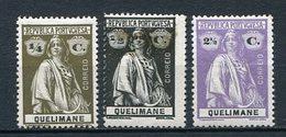 Quelimane Nr.25, 26 + 30      *  Unused       (001) - Quelimane