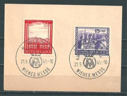 MiNr. 804-805 Briefstück (12) - Gebraucht