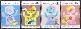 Australia 1990 Yvert 1151-54, Community Health - MNH - 1990-99 Elizabeth II