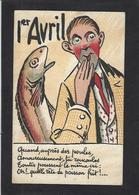 CPA Poisson D'avril Premier Avril écrite - 1° Aprile (pesce Di Aprile)