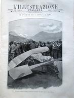 L'Illustrazione Italiana 2 Ottobre 1910 Morte Geo Chavez Alessandro Bonci Milano - Libri, Riviste, Fumetti