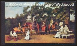 Großbritannien Markenheftchen 50 Story Of Wedgwood Luxus Postfrisch MNH 1980 - Booklets