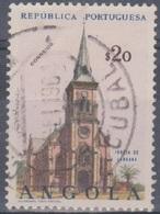 Angola 1963 Kirchen. Mi 494 0,20 E. Gestempelt - Angola