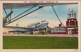 Municipal Airport Luchthaven Aéroport Flughaven Aeropuerto Gainesville Georgia USA Vliegtuig Avion Airplane Aircraft - 1919-1938: Fra Le Due Guerre