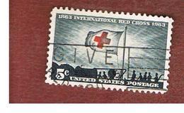 STATI UNITI (U.S.A.) - SG 1221 - 1963  RED CROSS CENTENARY     -  USED° - Usati