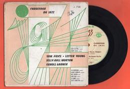 "SAM PRICE/ LESTER YOUNG/ JELLY ROLL MORTON/ ERROL GARNER - CARREFOUR DU JAZZ - EP 7"" - Jazz"