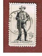 STATI UNITI (U.S.A.) - SG 1224 - 1964 SAM HOUSTON, POLITICIAN     -  USED° - Usati