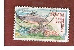 STATI UNITI (U.S.A.) - SG 1230 - 1964  NEVADA STATEHOOD CENTENARY  -  USED° - Stati Uniti