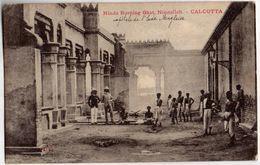 Hindu Burning Ghat, Nimtollah.  -  CALCUTTA - India