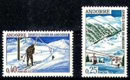 Andorra Francesa Nº 175/76 En Nuevo - Nuevos