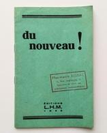 Du Nouveau ! : Laboratoires Homéopathiques Modernes, 1936 - Santé