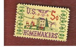 STATI UNITI (U.S.A.) - SG 1235 - 1964 HOMEMAKERS     -  USED° - Usati