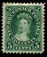 1863 New Brunswick - Unused Stamps