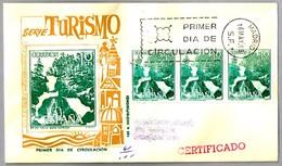 TURISMO - VALLE BOHI (LERIDA) - Cascada - Waterfall. SPD/FDC Madrid 1966 - Vacaciones & Turismo