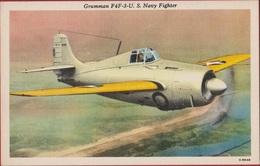US Navy - Grumman F4F3 Wildcat Fighter Jet Martlet Vliegtuig Avion Airplane Aircraft WW2 WWII World War 2 II Naval - 1939-1945: 2ème Guerre