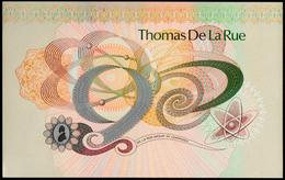 UK Test Note Thomas De La Rue UNC - Altri