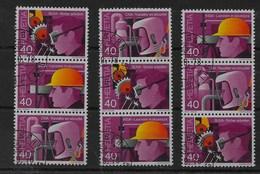 Combinaciones De Suiza Nº Zumstein Z-75/77 O - Se-Tenant