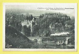 * Remouchamps (Aywaille - Liège - La Wallonie) * (Luma, Nr 215) L'Amblève Et Le Chateau De Montjardin, Train, Trein, TOP - Aywaille