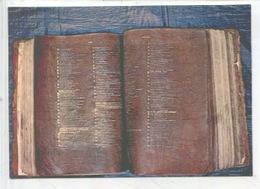 Bible De Théodulfe Feuillets Pourpres écrits Or Et Argent (art Religieux) Le Puy En Velay (cp Vierge) - Arts