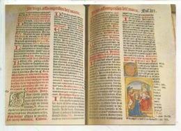 Missel De L'Ordre De Cluny (1523) Miniature Sur Velin, Couronnement De La Vierge - Art Religieux (cp Vierge) - Arts