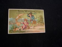 """Chromo """" Royal Windsor """" ( Pour Cheveux ) Enfants .Les Petits Peintres . 7,5.x 11. Voir 2 Scans . - Chromos"""