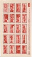 FEUILLE DE 20 VIGNETTES NEUF XX SANS CHARNIERE ERINNOPHILIE 1 - Commemorative Labels