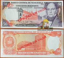 Venezuela 50 Bolivares 5 Feb. 1998 UNC Specimen P-65fs - Venezuela