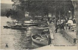 CPA 78 - CROISSY - CHATOU - La Grenouillère - Croissy-sur-Seine