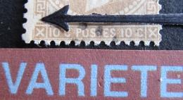 """R1917/75 - NAPOLEON III Lauré N°28A - Cachet AMBULANT """" P LIL """" - VARIETE ➤➤➤ Grosse Encoche Au Sud Ouest - 1863-1870 Napoleon III With Laurels"""