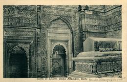NEW DEHLI  Tomb Of Shams Uddin Altamash  Ed Lal Chand & Sons Dariba Dehli - India