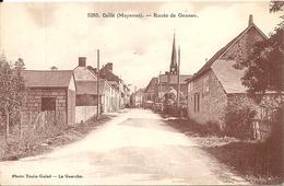 *CUILLE. ROUTE DE GENNES - France