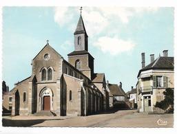 CPSM. 21. ROUVRAY. L'église. Vierge. CIM édit. Sd. - France