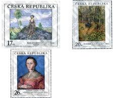 Ref. 136989 * MNH * - CZECH REPUBLIC. 2003. META BY TINGUELY . ART DECO - Mushrooms
