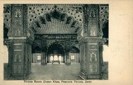 NEW DEHLI   Throne Room Diwan Khas Peacok Throne   DEHLI Ed Chand & Sons Dariba Dehli - India