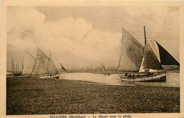 Billiers * Le Départ Pour La Pêche - France