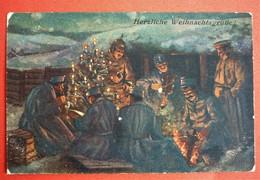 HERZLICHE WEIHNACHTSGRUSSE , K.U.K  10. FELDKOMPAGNIE , PATRIOTIKA - War 1914-18