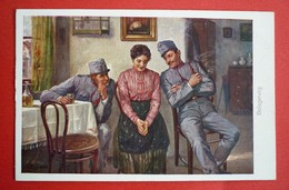 BELAGERUNG , K.U.K SOLDATEN ,  PATRIOTIKA - War 1914-18
