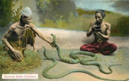 BURMESE SNAKE CHARMERS EDITION AHUJA RANGOON - Myanmar (Burma)