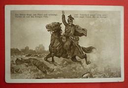 REITER UND PFERD ,  PATRIOTIKA - War 1914-18