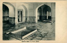 NEW DEHLI  Queens Bath In Fort  DEHLI  Ed. LAl Chand & Sons Dariba - India