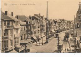 CPA - Belgique - De Panne - La Panne - L'avenue De La Mer - De Panne