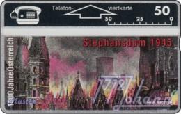 """TWK Österreich Privat: """"1000 J. Österreich - Stephansdom"""" (309L) Gebr. - Oesterreich"""