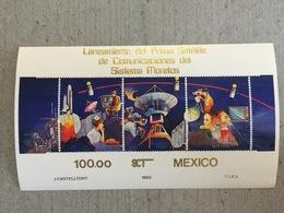 Mexique Mexico 1985 Espace Satellite De Communication Mexicain - Südamerika