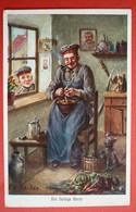 DIE FLEIKIGE BERTA ,  PATRIOTIKA , FELDPOST 1916 , F.O.SCHULZE - War 1914-18