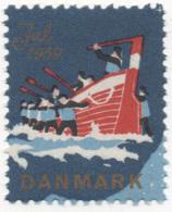 Denmark 1959, Julemaerke, Christmas Stamp, Vignet, Poster Stamp - Denmark
